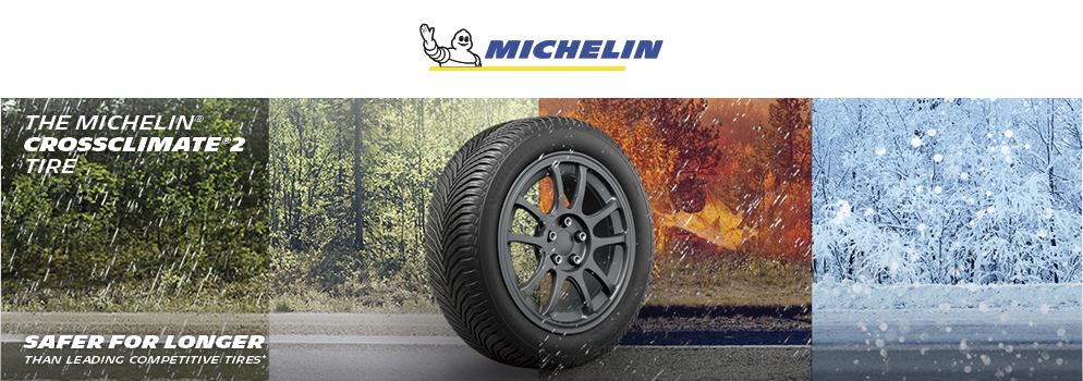 The Michelin Cross Climate 2 tire. Shop Now. Opens a Dialog