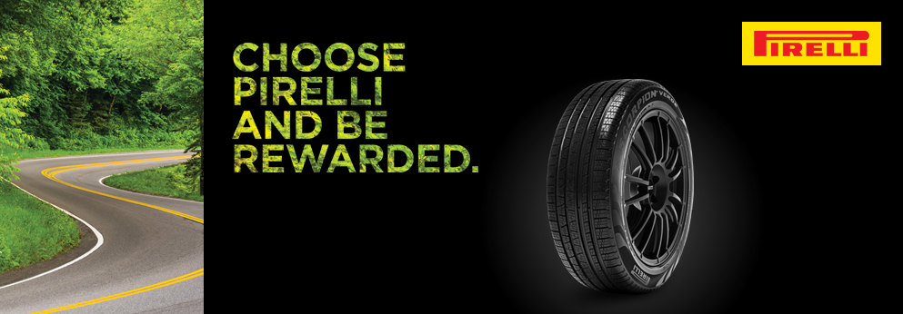 Choose Pirelli and be rewarded. Opens a Dialog