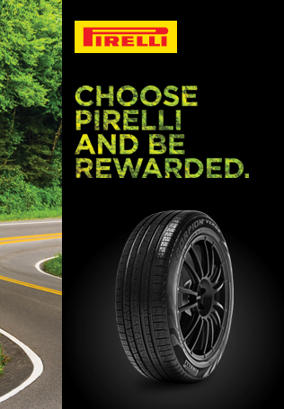 Choose Pirelli and be rewarded