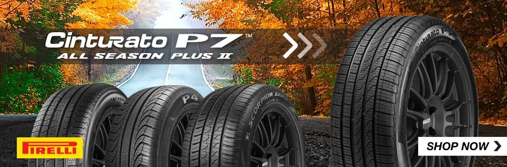 Pirelli Cinturato P7 All Season Plus 2 Tires Shop Now. Opens a Dialog