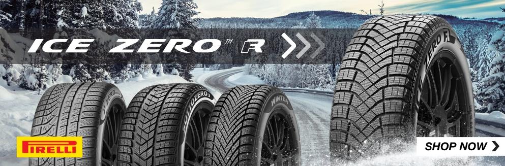 Pirelli Ice Zero Tires Shop Now. Opens a Dialog