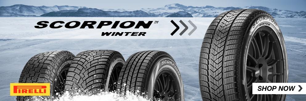 Pirelli Scorpion Winter Tires Shop Now. Opens a Dialog